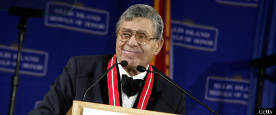 Jerry Lewis attends the 2011 Ellis Island Medals Of Honor Ceremony ...