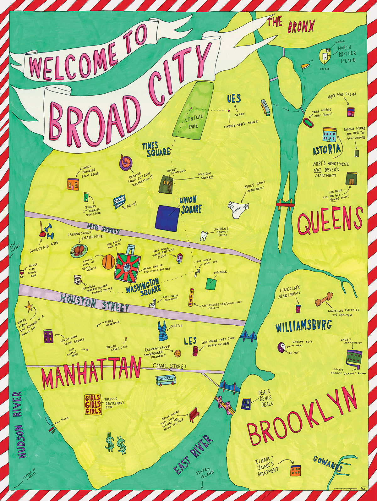 Broad City Infographic