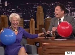 Helen Mirren Is Even Better On Helium