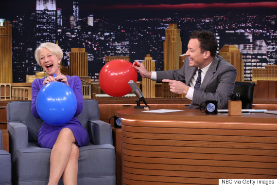 helen mirren jimmy fallon
