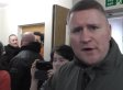 Britain First Protest Against Protest With Aggressive Protest