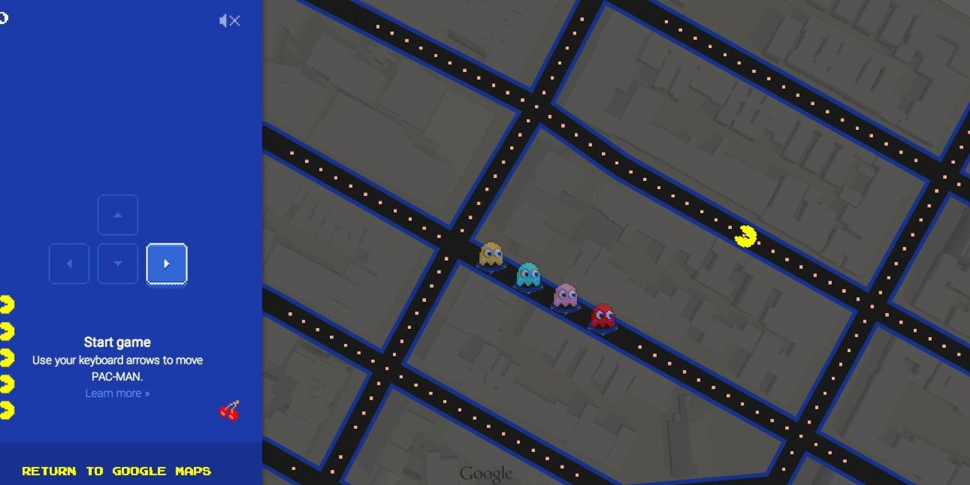 Celebrity voices for google maps