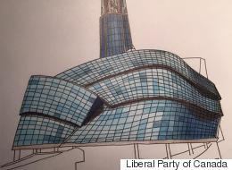 Trudeau Sketch Of Winnipeg Museum Auctioned Off On eBay