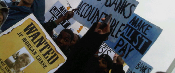 JPMORGAN CHASE PROTEST