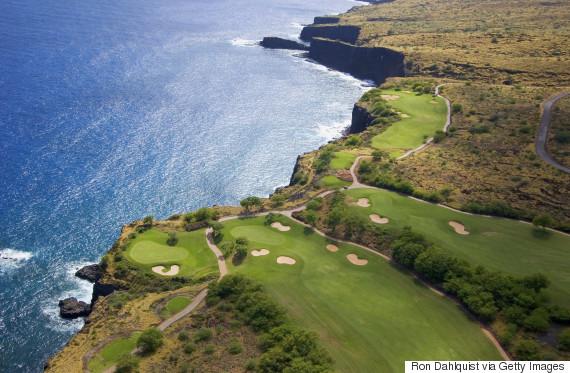 golf course lanai