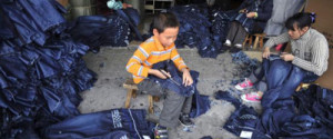 Jeansproduktion