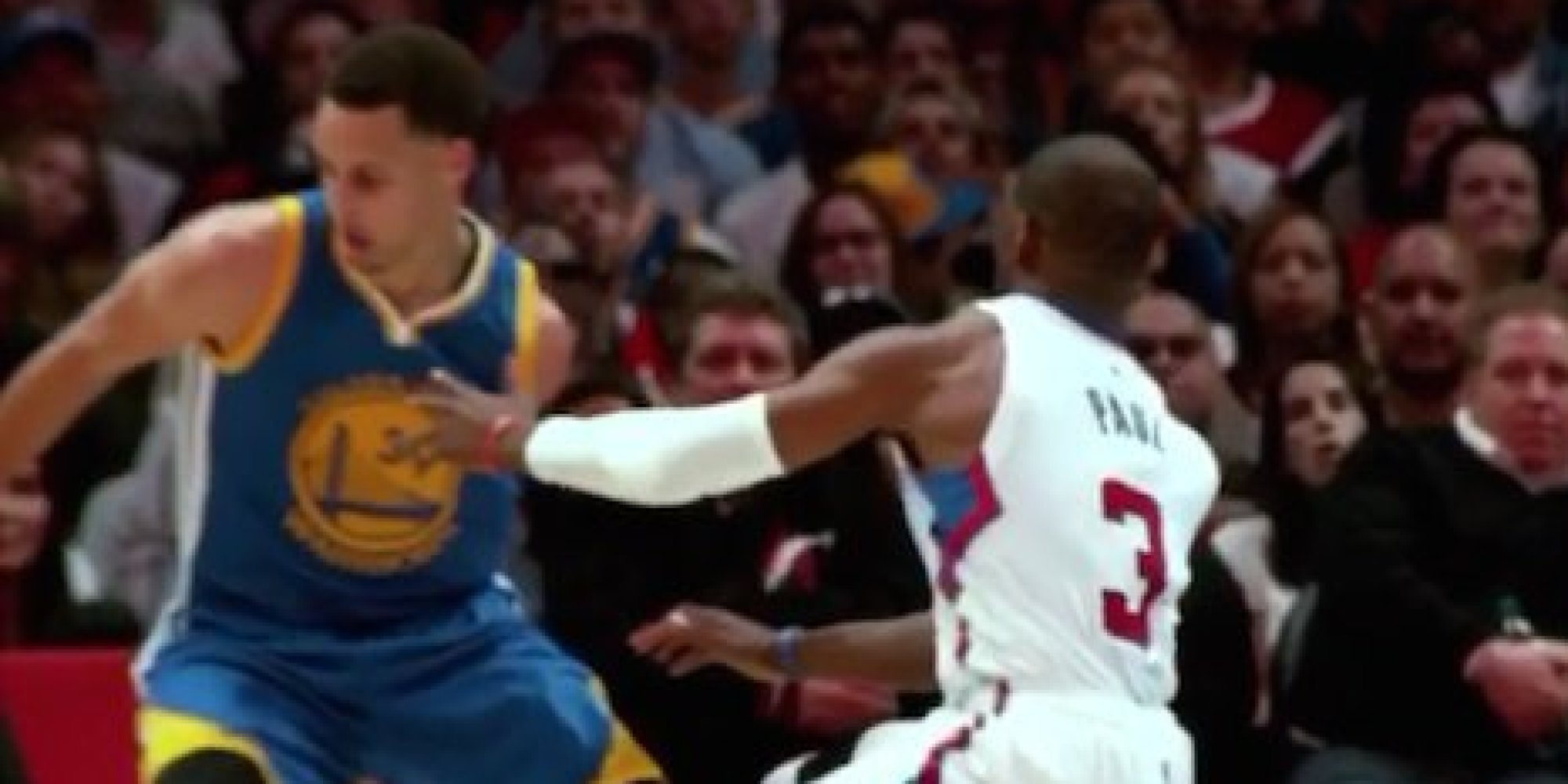 Stephen Curry's Crossover Dropped Chris Paul To The Floor ...