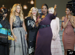 PHOTOS: Celebrities Pack Chicago Stadium For 'Oprah' Taping