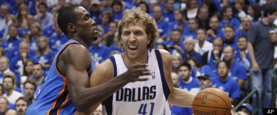 MAVERICKS THUNDER DIRK NOWITZKI