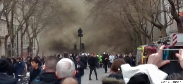 Apocalyptic Scenes In London As Terrifying Fire Sends Smoke Billowing Into The Sky