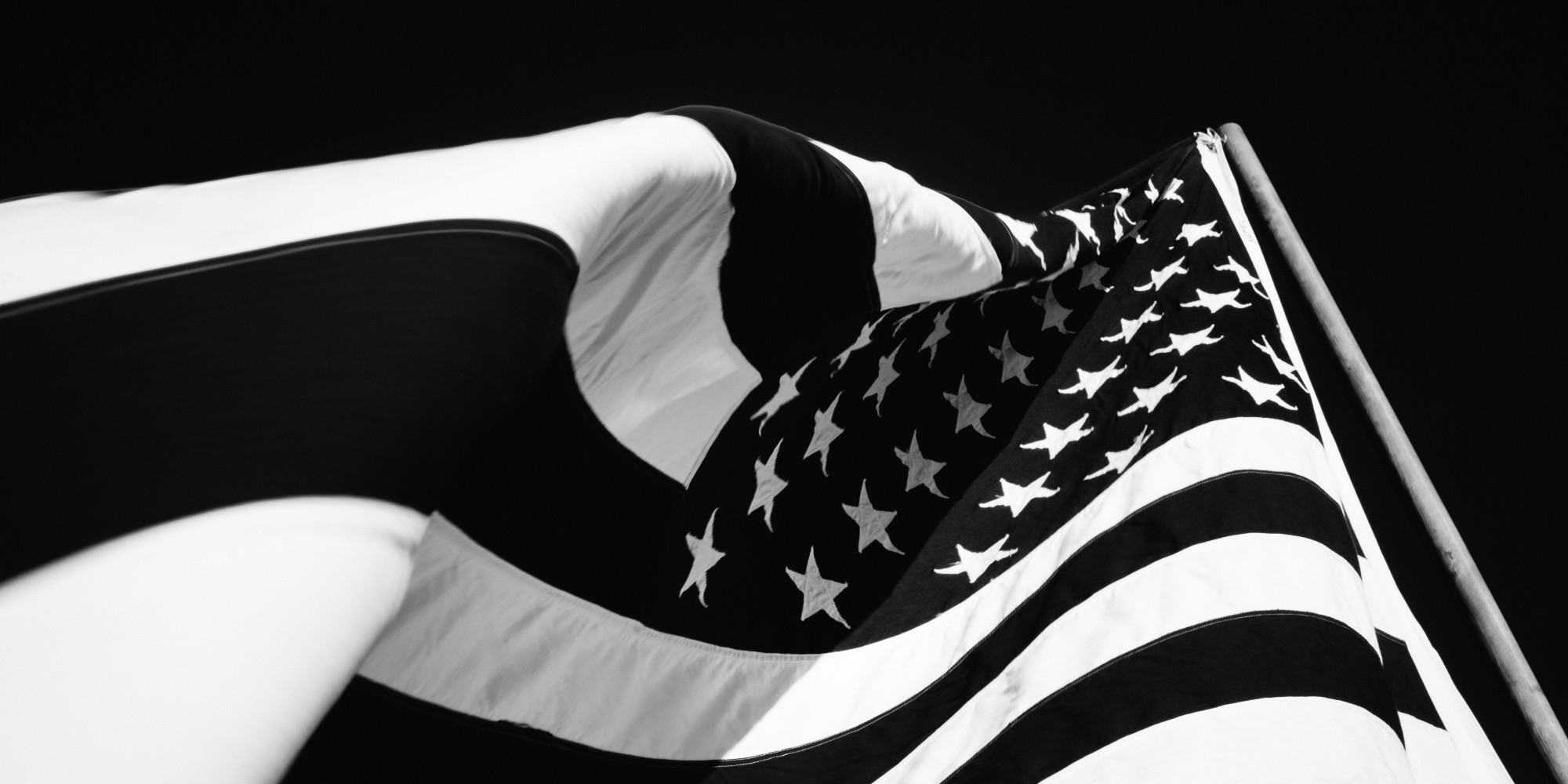 flag american america stars stripes waving military whit photograph contrast breeze closeup abstract very huffpost suicides study