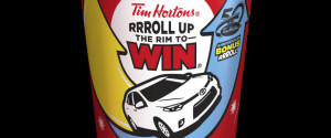 TIM HORTONS ROLL UP RIM