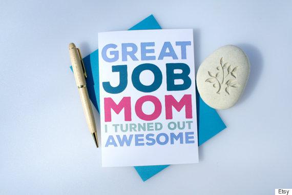 great job mom
