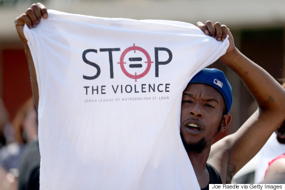 stop violence protest