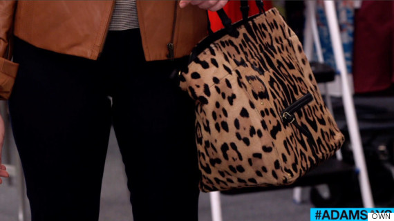 own adamsays adam glassman animal print rules bag