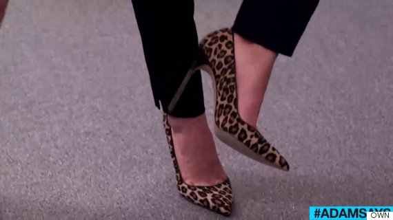 own adamsays animal print rules shoes