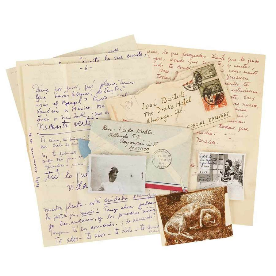Frida kahlos love letters give glimpse into the guarded artists letters spiritdancerdesigns Gallery