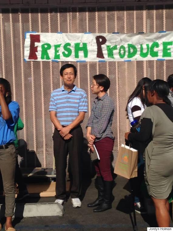 fresh produce jong soo park
