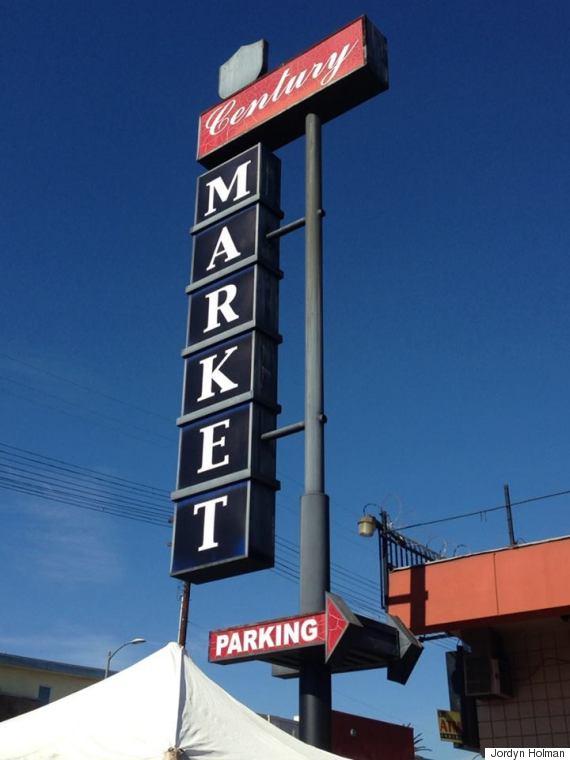 century market sign