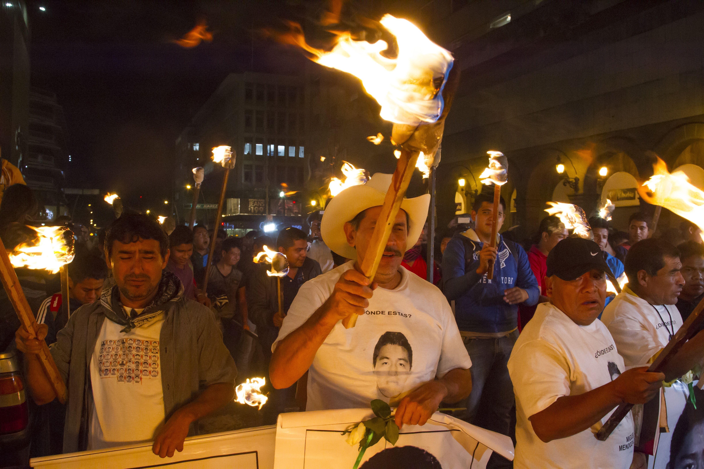 ayotzinapa caravan