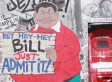 One Street Artist Is Calling Out Bill Cosby All Around New York