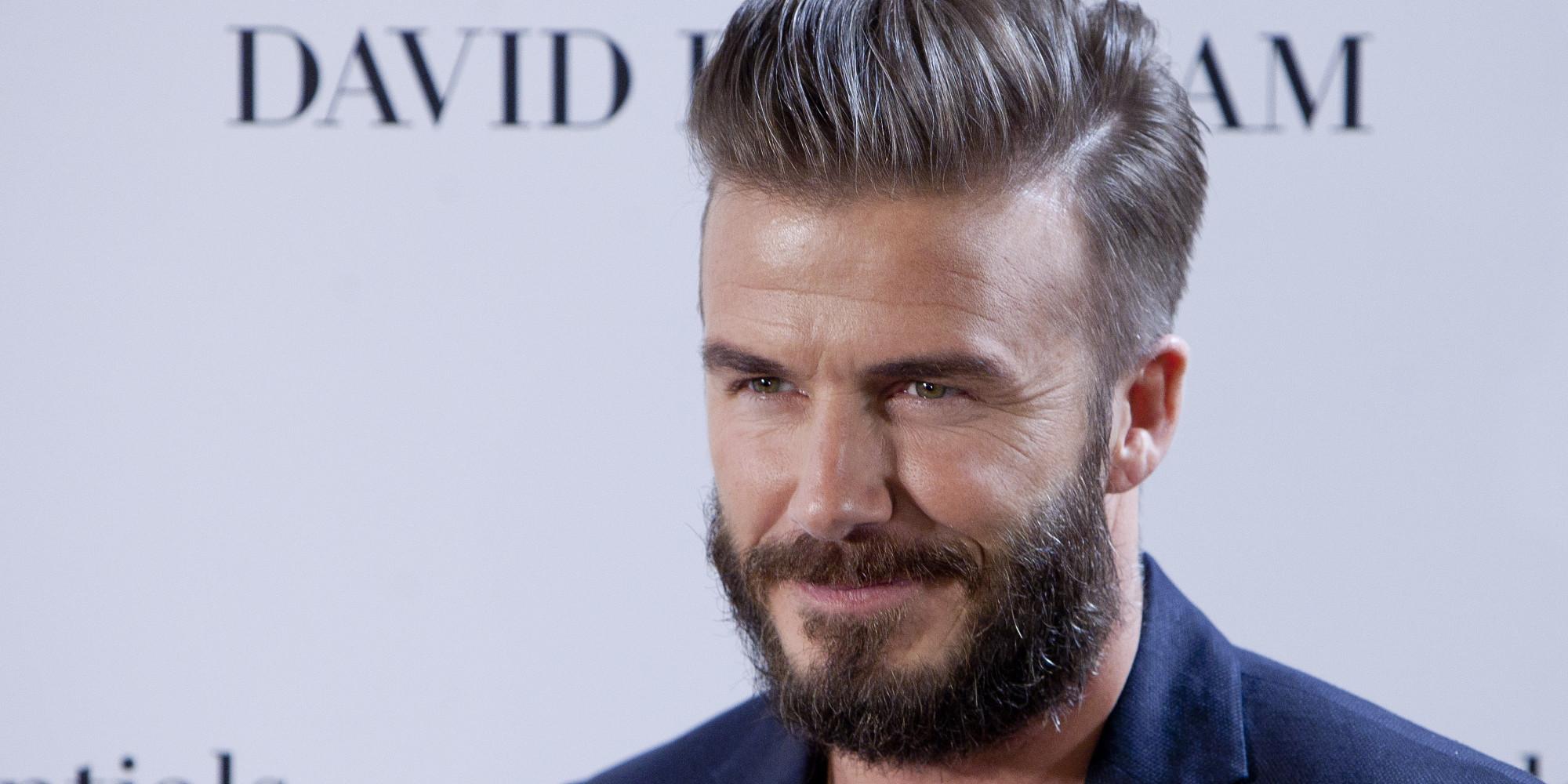 David Beckham Reveals He Chaperoned Son Brooklyn's First ... David Beckham Facebook