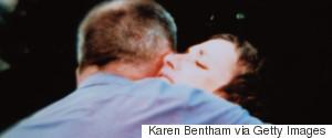 MAN WOMAN HUGGING UPSET