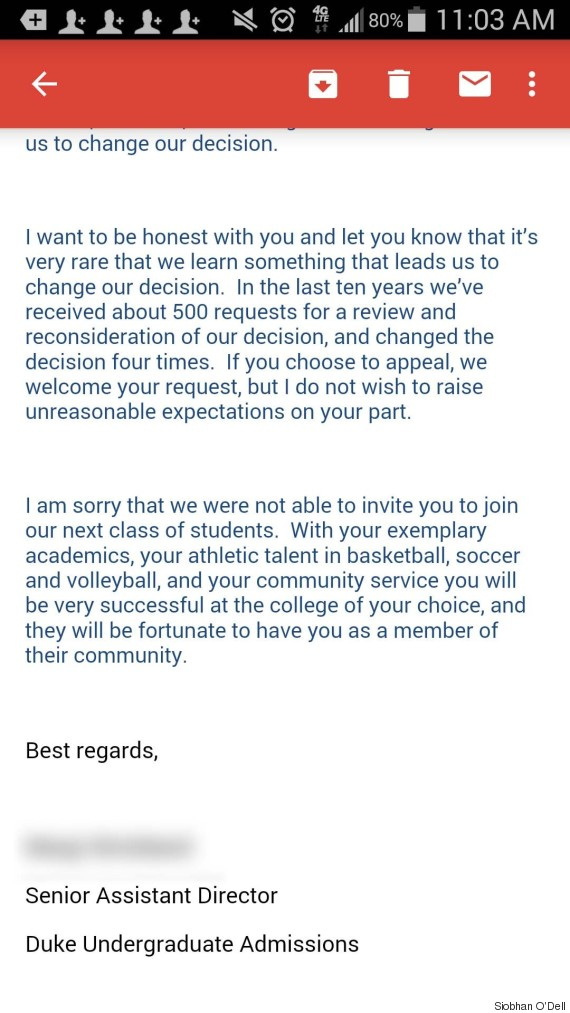 responding to a rejection letter Parlobuenacocinaco