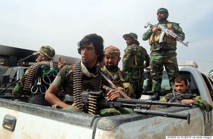 iraq militiamen
