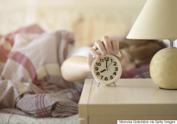 turning off alarm
