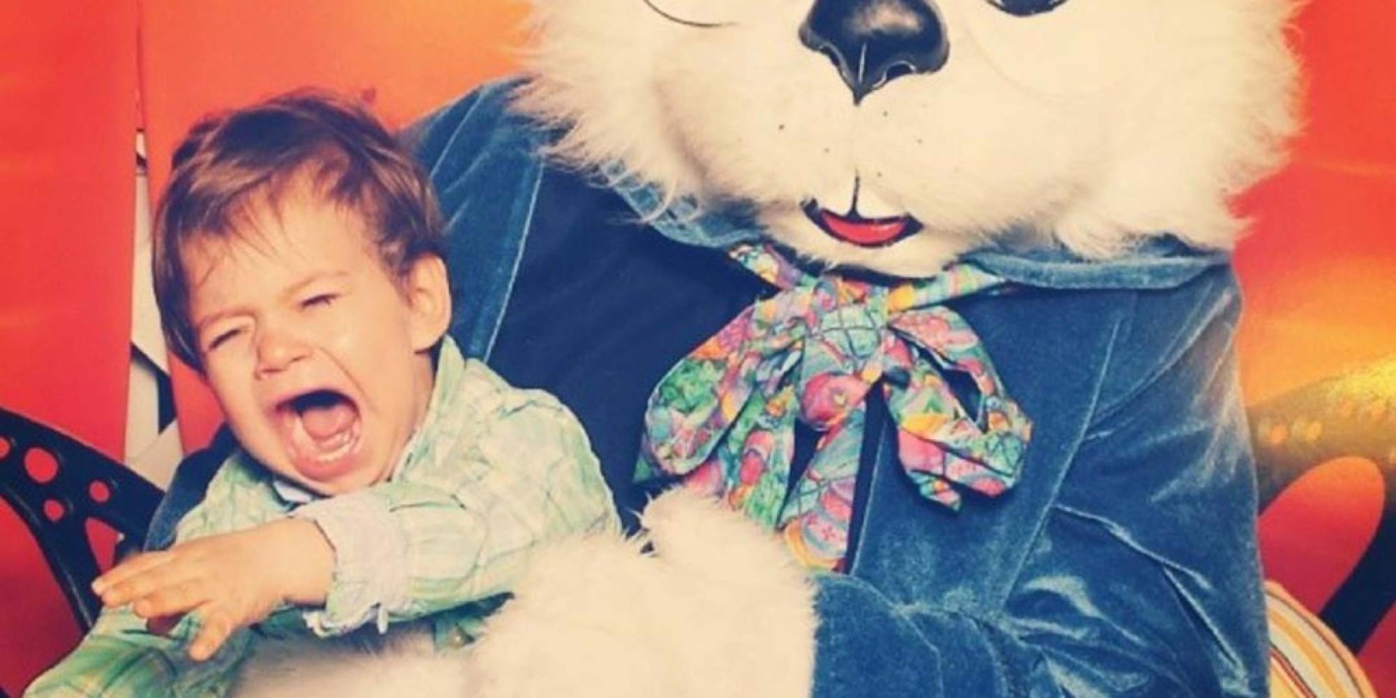 Scary Easter Bunny Photos Creepy easter bunnies