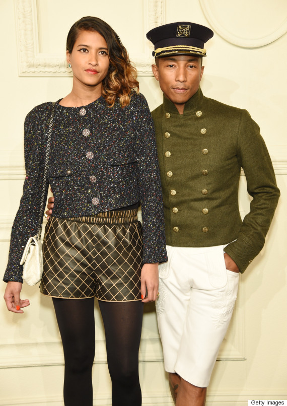 Pharrell Williams And Wife Helen Lasichanh Stun On This