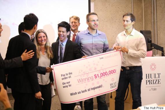 social entrepreneurship hult prize