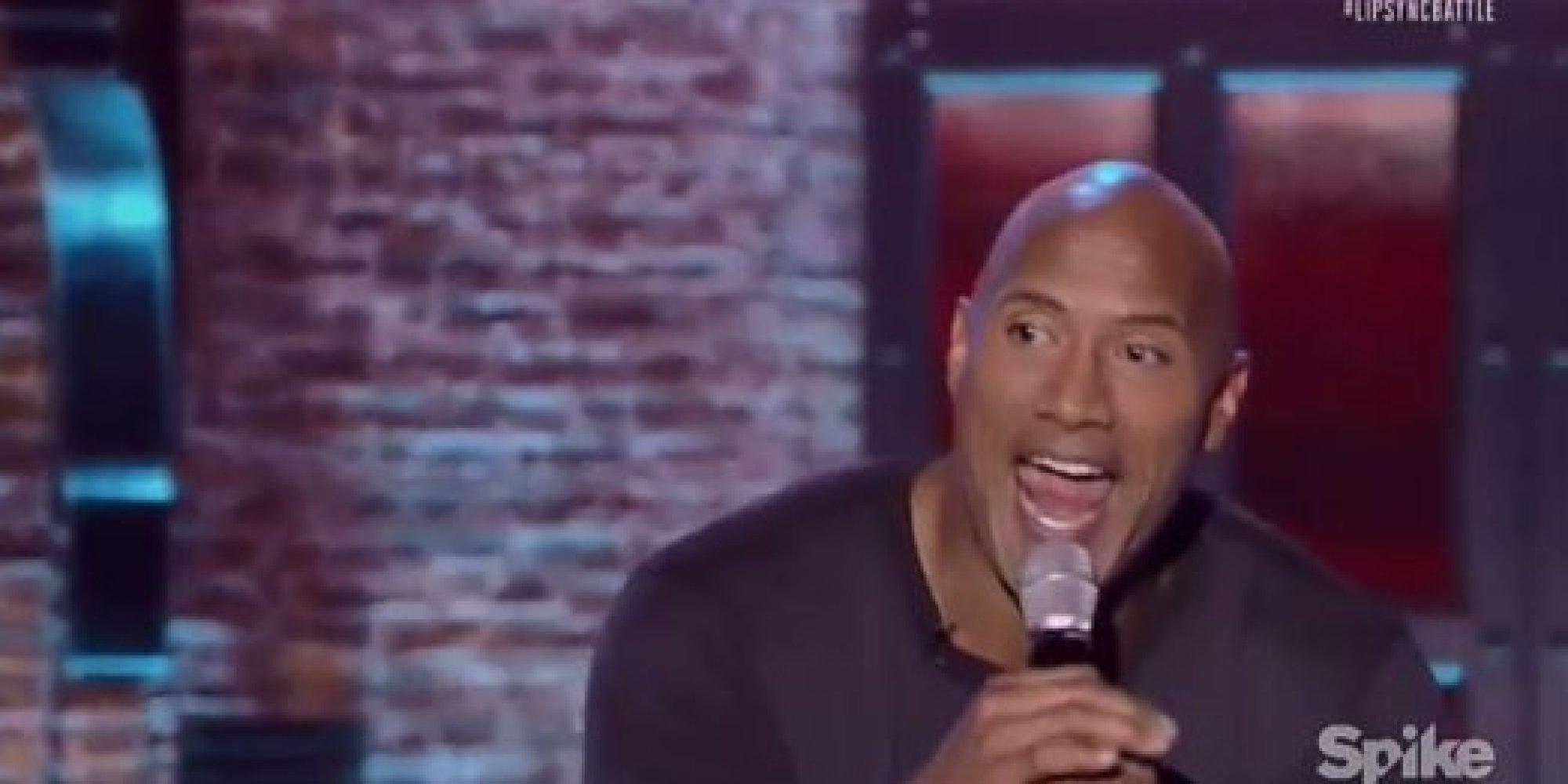 Watch Dwayne 'The Rock' Johnson's amazing lip sync to ...