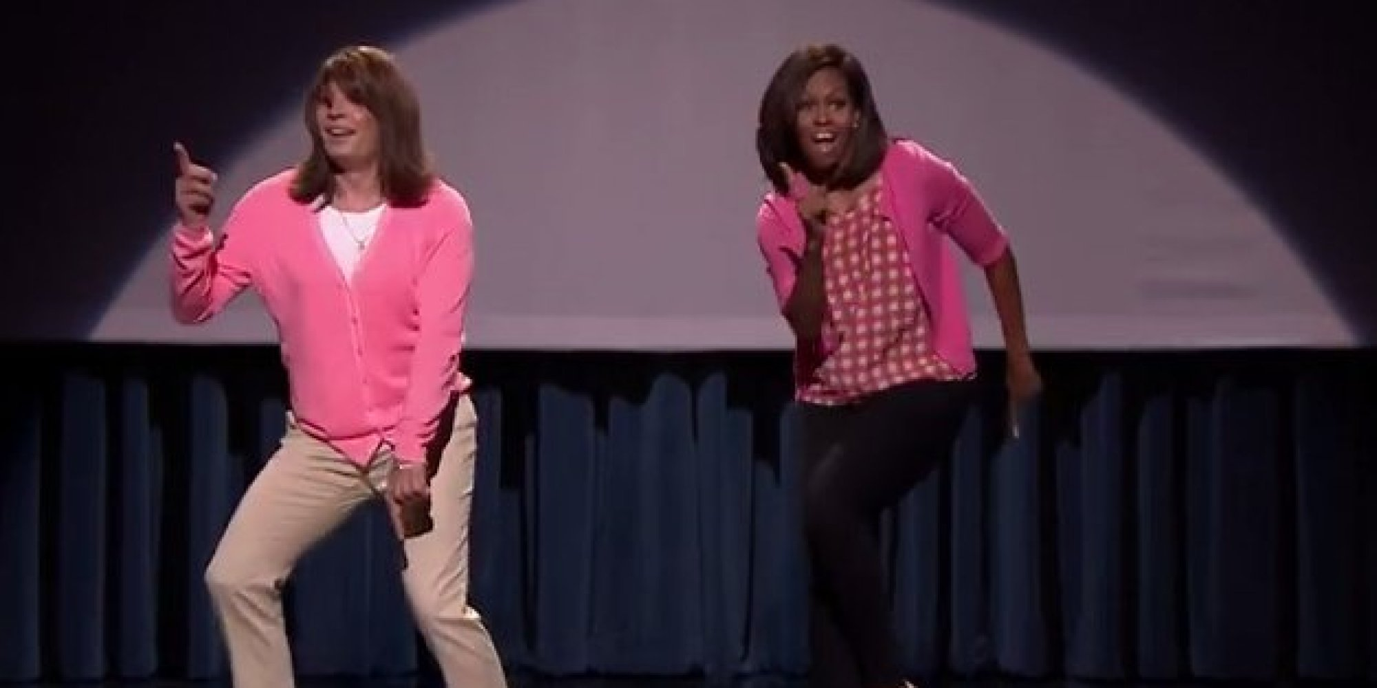 Michelle Obama And Jimmy Fallon Just Took Their Mom Dance Moves To The ...