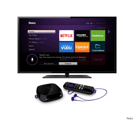 roku voice search