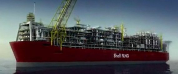 PRELUDE FLNG SHELL BIGGEST FLOATING OBJECT