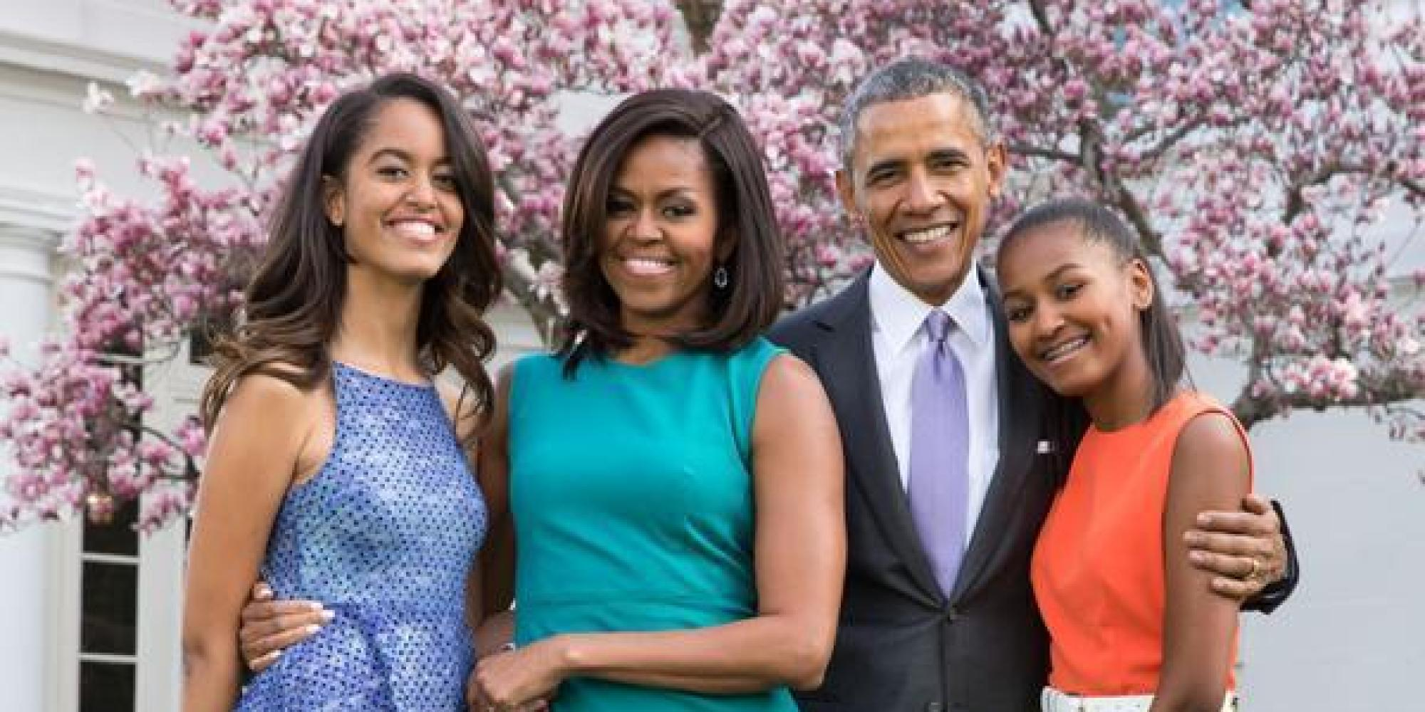 Michelle Obama And First Family Looked Exceptionally