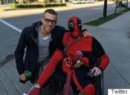 Ryan Reynolds Literally Stopping Traffic In Hometown Of Vancouver