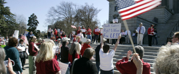 SOUTH CAROLINA TEA PARTY RALLY