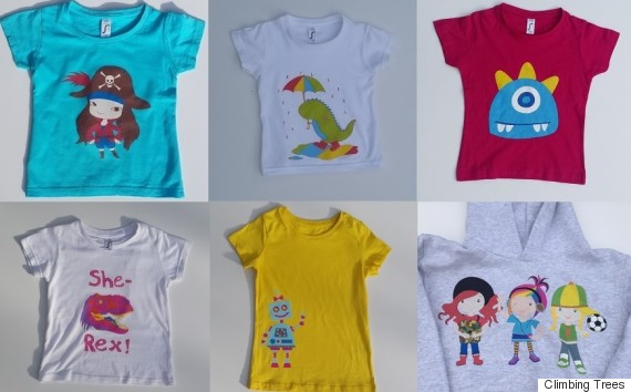 174c822a8f 12 Brilliant Kids' Clothing Lines That Say No To Gender Stereotypes |  HuffPost Life