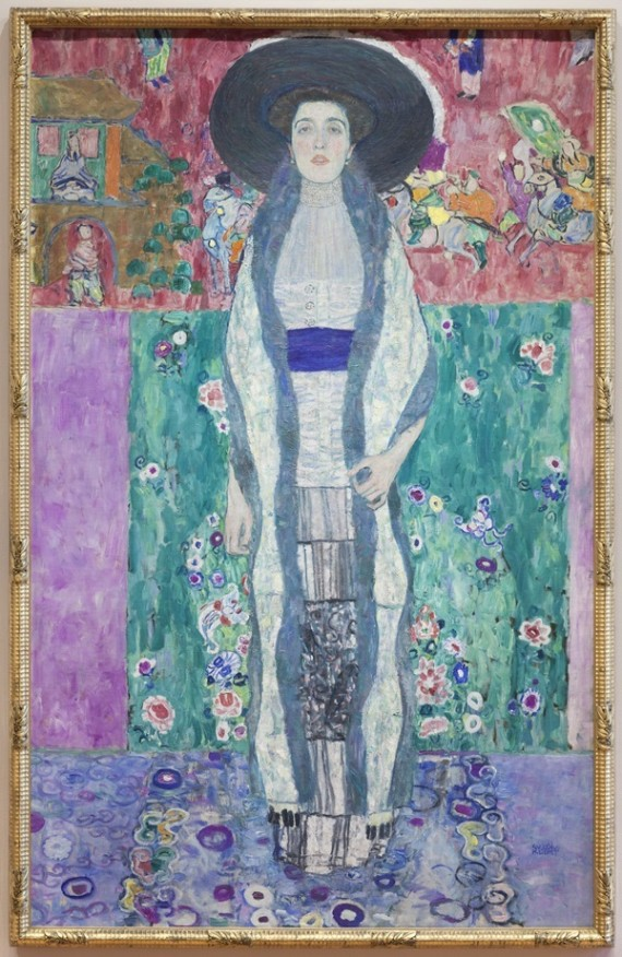 How checkbook art history elevated gustav klimt to the for Gustav klimt original paintings for sale