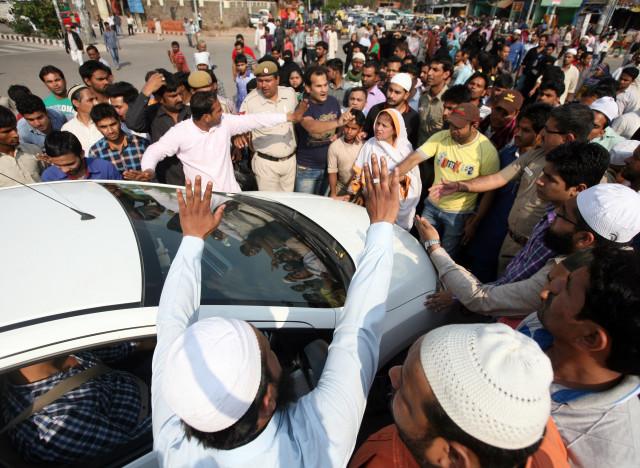 delhi road rage