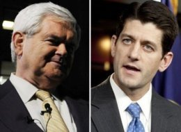 Paul Ryan Newt Gingrich