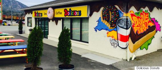 dolicious donuts kelowna