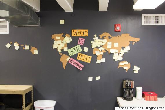 canvas destination wall