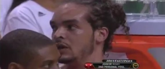 r JOAKIM NOAH GAY SLUR large570 Be the first to post a comment on this video.