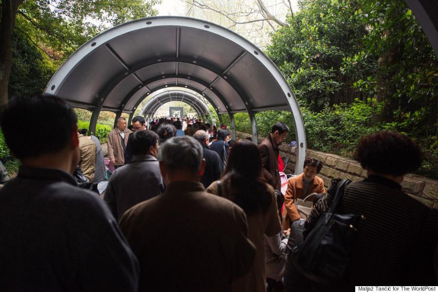 crowd tunnel