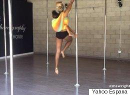Polémica por video de madre que baila <i>pole dancing</i> con su bebé