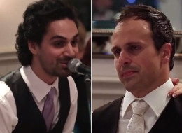 Watch The Best Man 'Speech' That Brought These Brothers To Tears